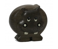 The Miniature wooden Ippopotamus