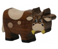 The Miniature wooden Cow