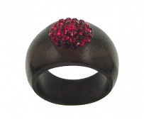 Ring Red  - diam.16,5 mm