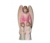The Guardian Angel with boy and girl