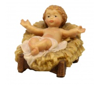 Infant with Cradle
