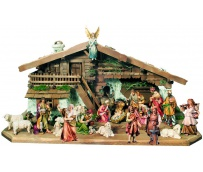 Nativity Set 26 Pcs. with Stable