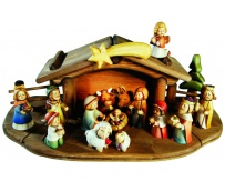 Entire Nativity Set 20 Pcs.