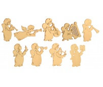 Angel Set 9 pcs 4x5cm