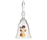 Cristal Bell with Angel Item 16107-04