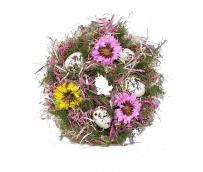 Easter Wreath25x25x7cm