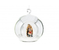 Bauble with Holy Family 17006