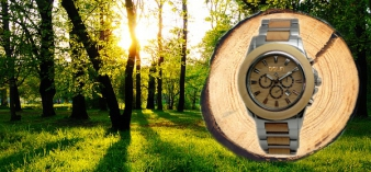 Wristwatches wood