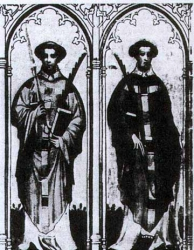 Sant 'Ewald the Black and Ewald the White Monks and Martyrs