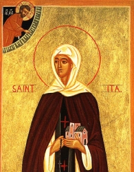 "Sant 'Ita (Ida) ""Virgin"""