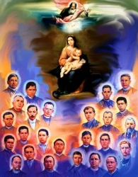 Saints and Blessed Martyrs Mexican (Christopher Magallanes J