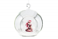 Bauble with Santa Claus