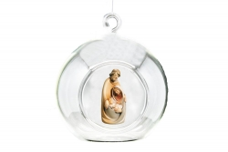 Bauble with Holy Family 17021