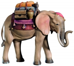 Elephant with Saddle