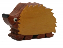 The Miniature wooden Hedgehog