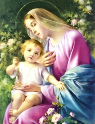 Our Lady of the Rosary ""
