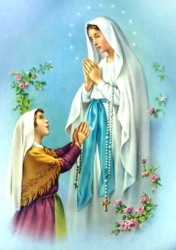 Our Lady of Lourdes ""